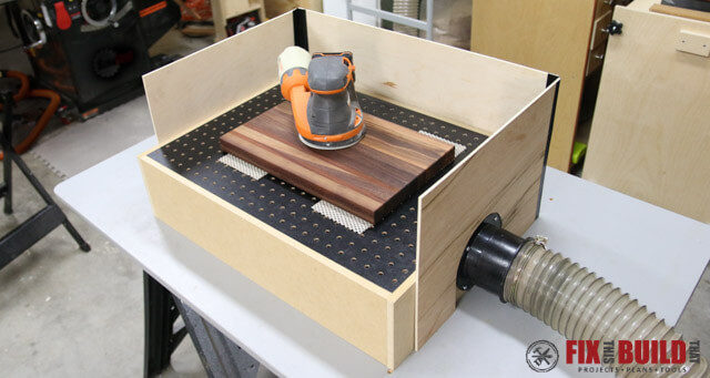 How to build a belt sander with a bench grinder