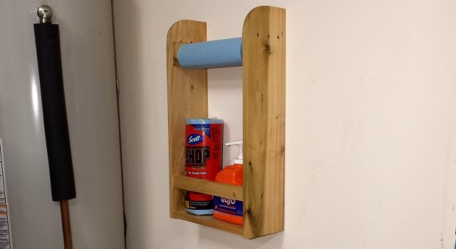 Palletwood Sink Caddy Plans