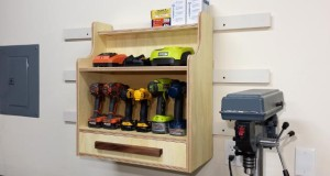 Cordless Drill Charging Center Plans