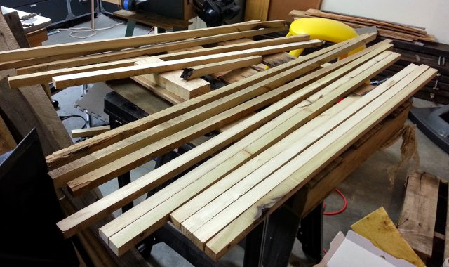 Cubby frame pieces