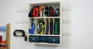 Tool Storage Wall Cabinet Plans