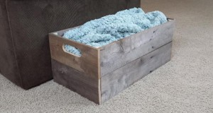 DIY Pallet Wood Crate