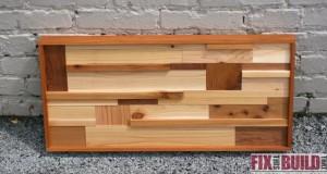 DIY scrap wood wall art plans