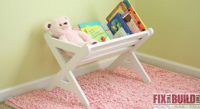 Diy Kids Bookshelf Fixthisbuildthat