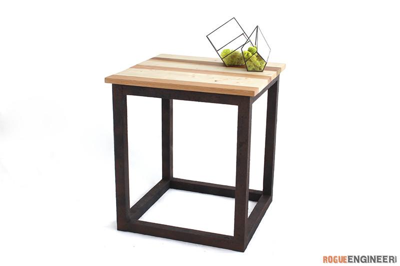 Rogue Engineer Scrap Industrial Side Table