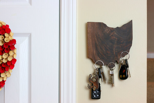 State Pride Magnetic Key Holder
