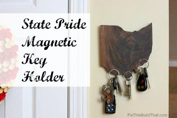 State Pride Magnetic Key Holder