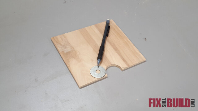 Sandpaper Disc Storage Station