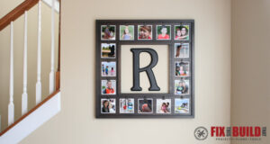 DIY Instagram Picture Display Plans