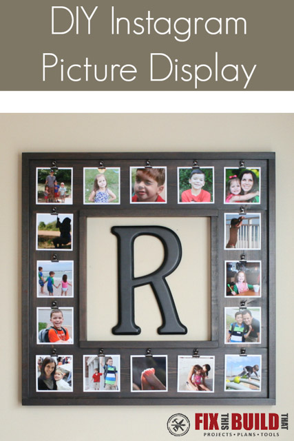 DIY Instagram Picture Display
