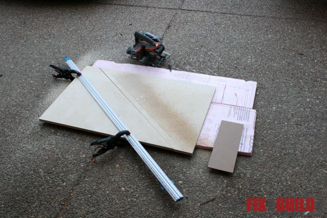 mobile miter saw station sheet goods
