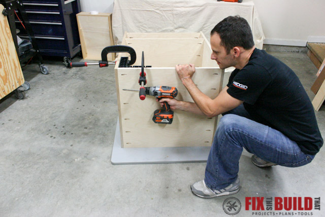 mobile miter saw stand bottom shelf