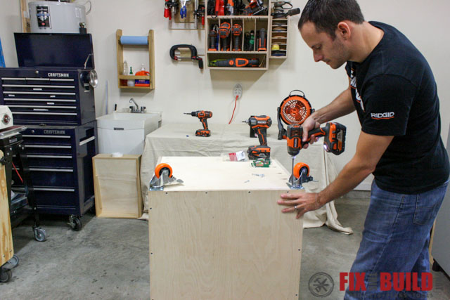 mobile miter saw stand casters