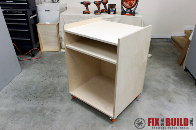 mobile miter saw stand base