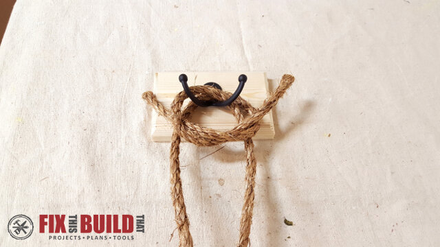 DIY Wreath Hanging Rail - 22