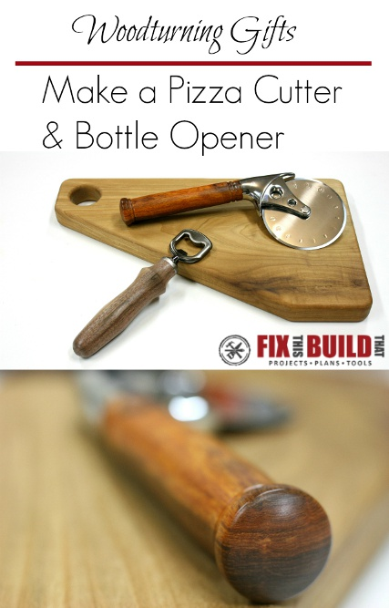 Make a Pizza Cutter and Bottle Opener Kit
