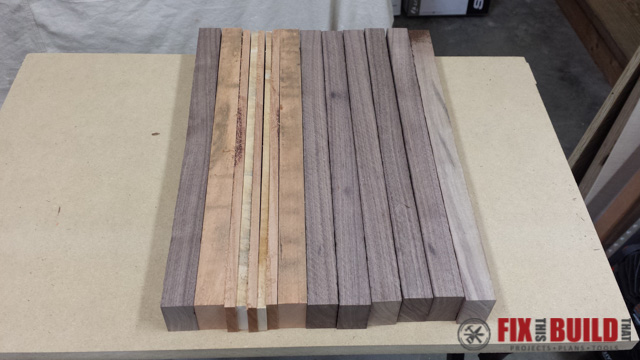 Scrap Wood Cutting Board-17
