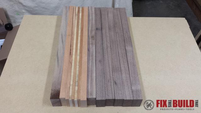 Scrap Wood Cutting Board-23