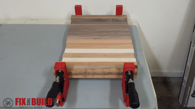Scrap Wood Cutting Board-29