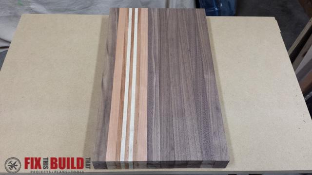 Scrap Wood Cutting Board-36