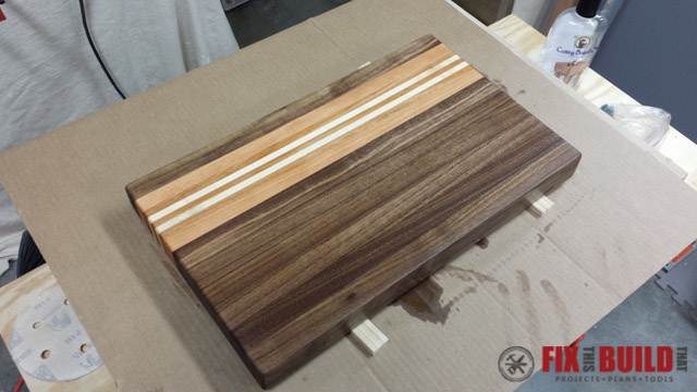 Scrap Wood Cutting Board-50