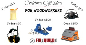 Woodworker Gift Ideas for Christmas