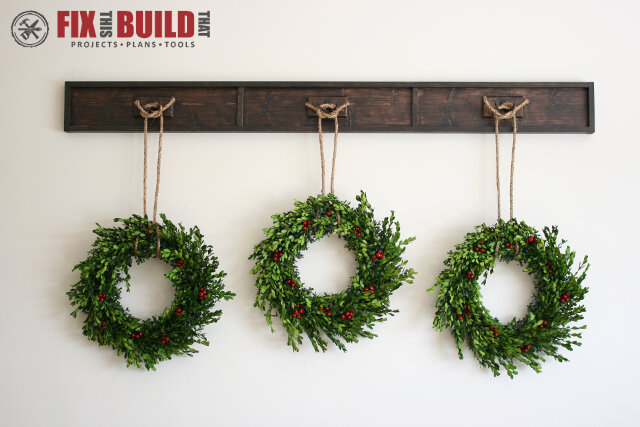 Wreath Display Rail - Fb6