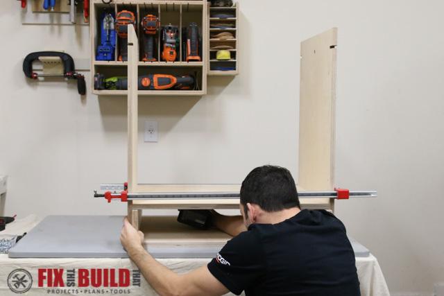 DIY Flip Top Tool Stand-11