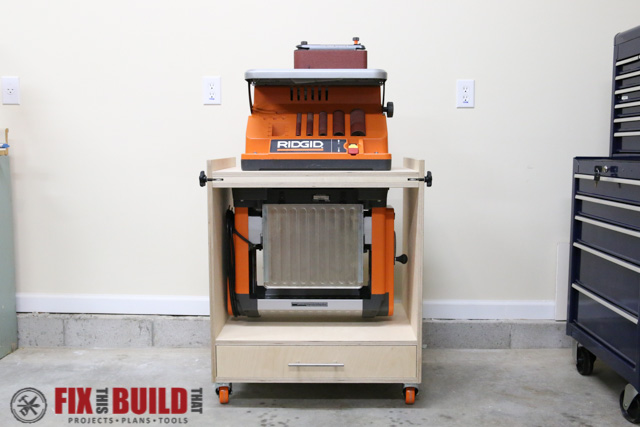 cordless tool station woodworking plan how to build a flip top tool stand fixthisbuildthat