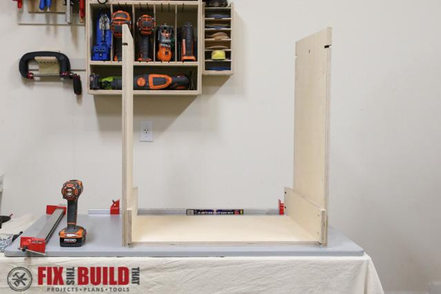 DIY Flip Top Tool Stand-9