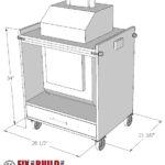 DIY Flip Top Stand PDF Plans Download