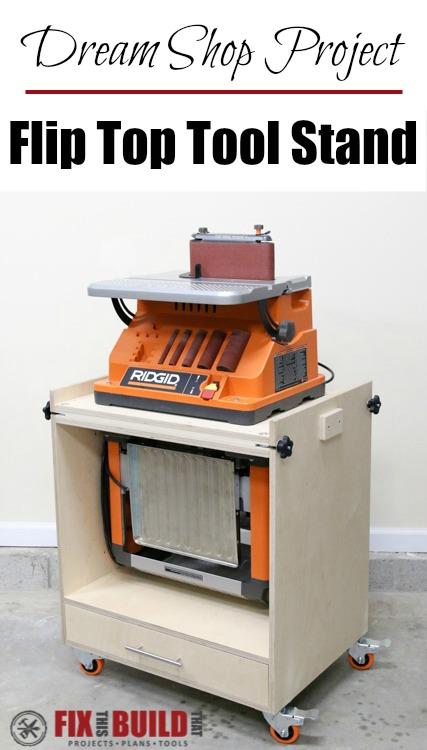 DIY Flip Top Tool Stand P02