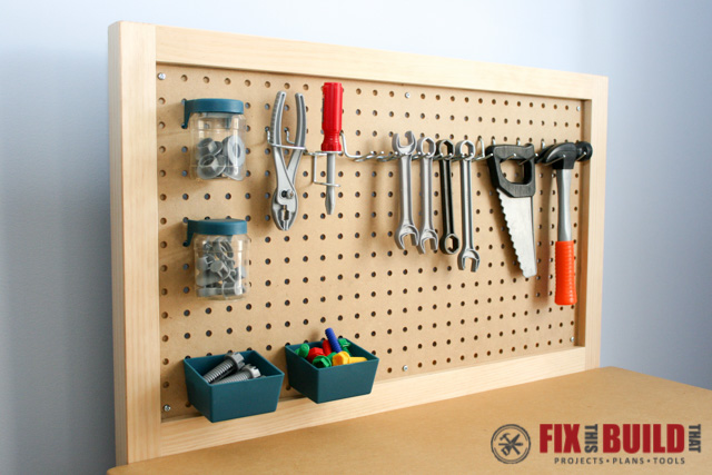 DIY Kids Kids Workbench f-4