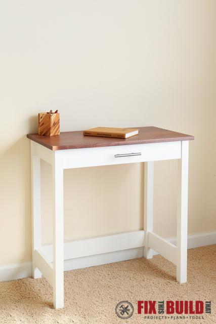 DIY Writing Desk-33