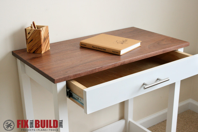 DIY Small Computer Desk