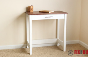 DIY Writing Desk Plans