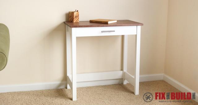 Simple Writing Desk Customizeit Simple Trestle Desk