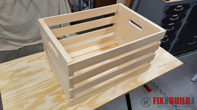 Diy Sliding Wood Crate Storage Fixthisbuildthat