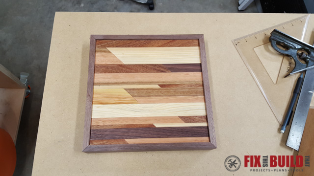 Wood Wall Art Diy how to make wooden wall art | fixthisbuildthat
