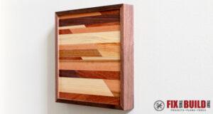 DIY Small Wooden Wall Art
