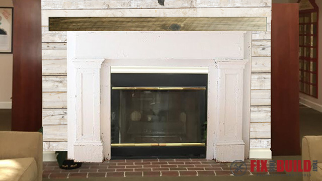 Build a Fireplace Surround and Mantel FixThisBuildThat