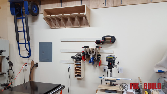 DIY Parallel Clamp Rack-45