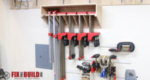 Space Saving Parallel Clamp Rack Storage Plans