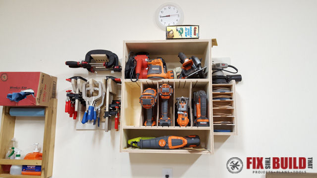 French Cleat Wall Diy Tool Storage Fixthisbuildthat