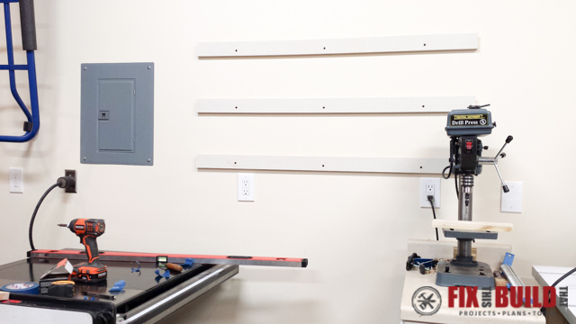 How To Make A French Cleat Tool Storage System