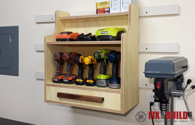 charging station for cordless drills