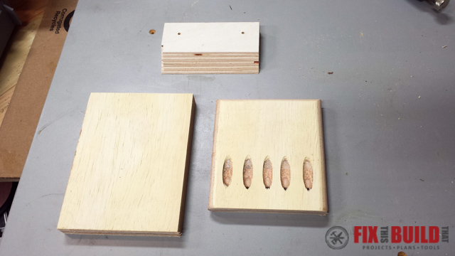 making a wood cleat clamp holder