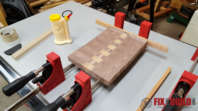 How to Make an End Grain Cutting Board-16