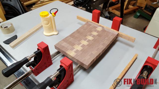 How to Make an End Grain Cutting Board-16