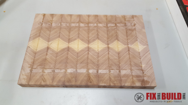 How to Make an End Grain Cutting Board-19